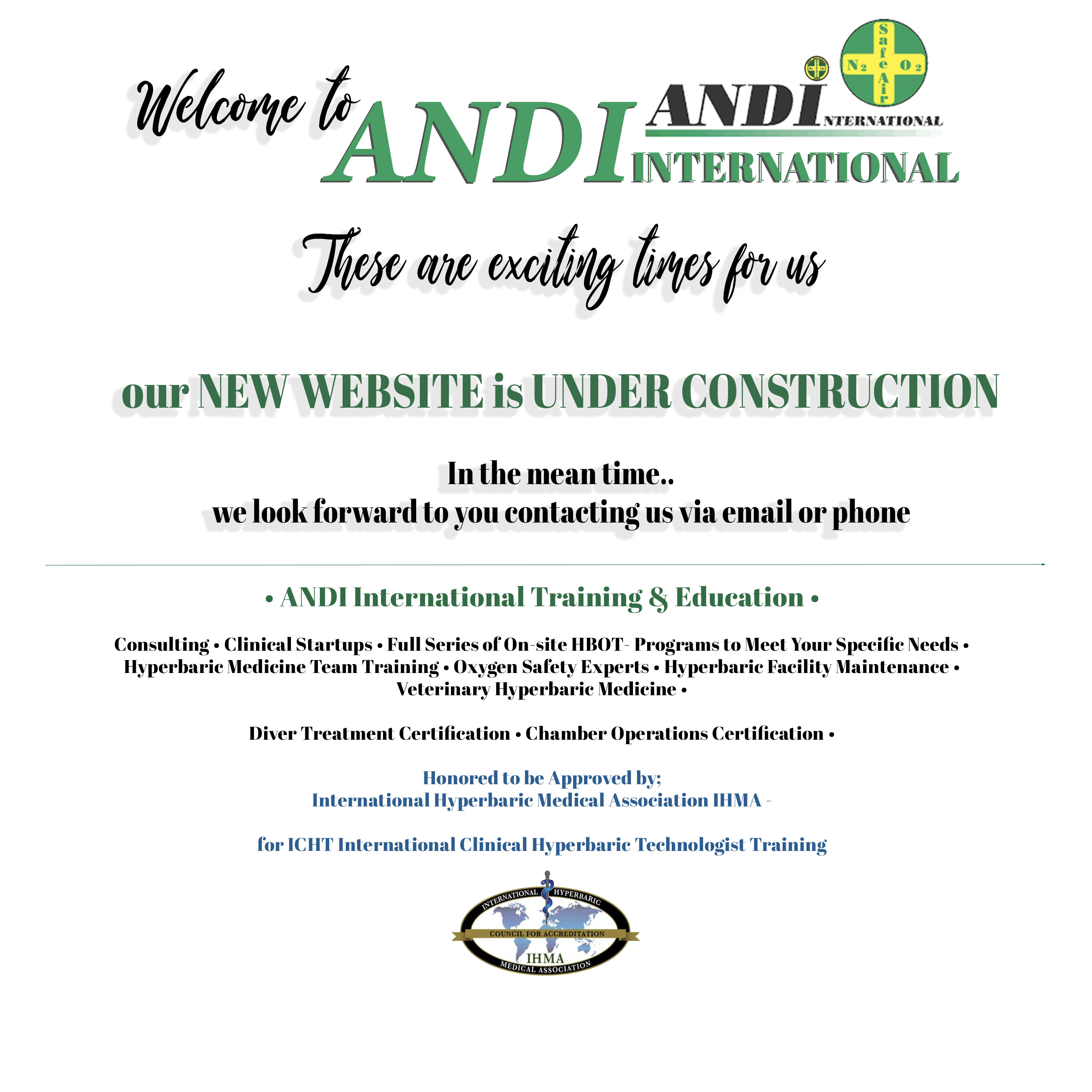 ANDI HOME PAGE